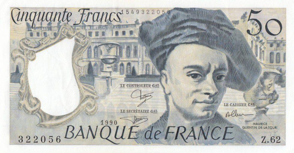 billet de 5 francs 1990