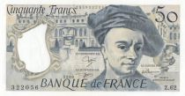 France 50 Francs Quentin de la Tour - Z.62 - 1990