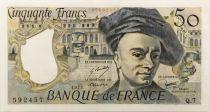 France 50 Francs Quentin de la Tour 1977 - Série Q.7 - SUP+