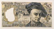 France 50 Francs Quentin de la Tour 1981 - Série T.25 - NEUF