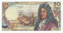 France 50 Francs Racine - 02-01-1976 Serial W.286 - XF