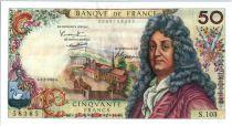France 50 Francs Racine - 02-02-1967 Serial S.103