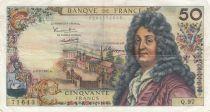 France 50 Francs Racine - 02-02-1967 Série Q.97 - TTB