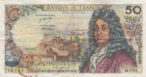 France 50 Francs Racine - 02-03-1972 Série N.193 - TTB
