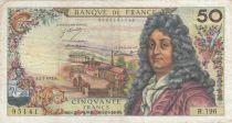 France 50 Francs Racine - 02-03-1972 Série R.196 - TB+