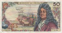 France 50 Francs Racine - 02-05-1963 Serial J.54 - VF