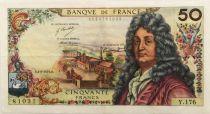 France 50 Francs Racine - 03-06-1971 Série Y.176 - TTB