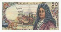 France 50 Francs Racine - 04-03-1965 Serial O.92 - XF
