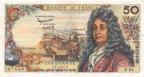 France 50 Francs Racine - 04-03-1965 Serial V.94 - VF