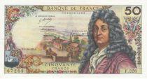 France 50 Francs Racine - 04-10-1973 Série F.228 - PSUP