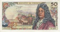 France 50 Francs Racine - 04-10-1973 Série Y.228 - TB+