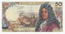France 50 Francs Racine - 05-06-1975 Série L.271 - TTB+
