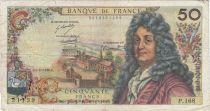 France 50 Francs Racine - 05-11-1970 Série P.168 - TB