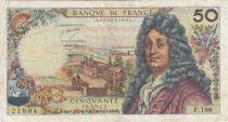 France 50 Francs Racine - 05-11-1971 Série F.186 - TB