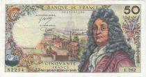 France 50 Francs Racine - 06-03-1975 Série L.262 - TB+