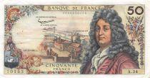 France 50 Francs Racine - 06-12-1962 Serial A.34 - VF