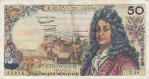 France 50 Francs Racine - 07-02-1963 Serial U.44 - VF