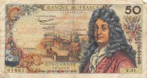 France 50 Francs Racine - 07-02-1963 Série V.44 - TB