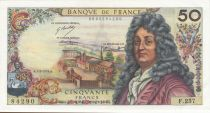 France 50 Francs Racine - 07-02-1974 Serial F.237 - VF+