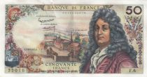 France 50 Francs Racine - 07-06-1962 Serial F.6 - XF - P.148