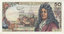 France 50 Francs Racine - 07-06-1962 Série D.11 - TTB+