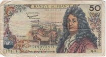France 50 Francs Racine - 07-06-1962 Série Q.5 - TB