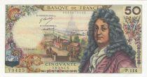 France 50 Francs Racine - 07-12-1967 Série P.114 - SUP+