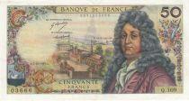 France 50 Francs Racine - 07-12-1967 Série Q.109 - TTB+