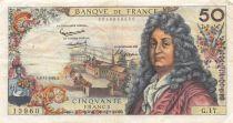 France 50 Francs Racine - 08-11-1962 Serial G.17 - VF