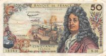 France 50 Francs Racine - 08-11-1962 Serial N.26 - F+