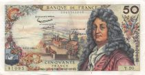 France 50 Francs Racine - 08-11-1962 Serial Y.20 - VF
