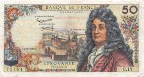 France 50 Francs Racine - 08-11-1962 Série E.17 - TB