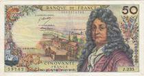 France 50 Francs Racine - 08-11-1973 Série J.235 - TTB