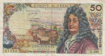 France 50 Francs Racine - 10-08-1972 Serial N.199 - VF
