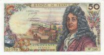 France 50 Francs Racine - 10-08-1972 Série W.200 - SUP