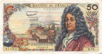 France 50 Francs Racine - 11-07-1963 Serial E.76 - VF