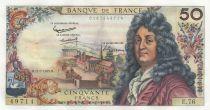 France 50 Francs Racine - 11-07-1963 Serial E.76
