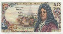 France 50 Francs Racine - 11-07-1963 Serial W.70