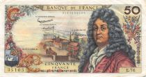France 50 Francs Racine - 11-07-1963 Série E.76 - TTB