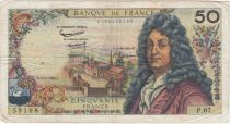 France 50 Francs Racine - 11-07-1963 Série P.67 - TB