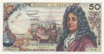 France 50 Francs Racine - Spécimen N° 0162 - 1962