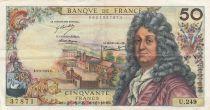 France 50 Francs Racine -05-09-1974 Série U.249 - TTB