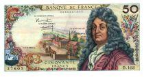 France 50 Francs Racine 02-02-1967 - Série D.103 - TTB+