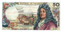 France 50 Francs Racine 02-05-1963 - Serial C.60 - XF