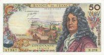 France 50 Francs Racine 02-10-1975 - Serial N.278 - VF to XF