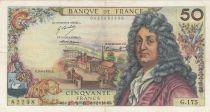 France 50 Francs Racine 03-06-1971 - Série G.175 - TTB