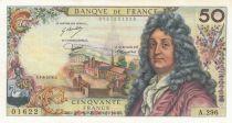 France 50 Francs Racine 03-06-1976 - Serial A.296 - aUNC