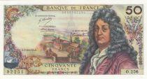 France 50 Francs Racine 03-10-1974 - Serial O.256 - AU