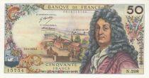 France 50 Francs Racine 04-01-1973 - Serial N.208 - XF