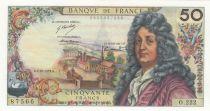 France 50 Francs Racine 04-10-1973 - Série O.222 - SUP+